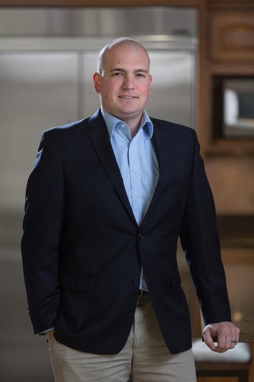 Portrait of Anthony Santoni