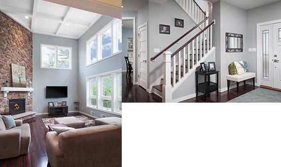 Dickinson Homes detail photo